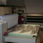 druk na tkaninie